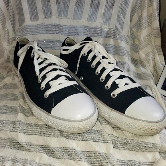 Men's black Converse All Star shoes 12